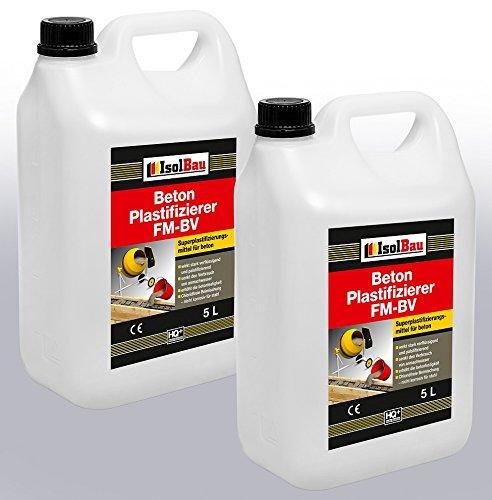 10 Liter Beton Plastifizierer Zusatzmittel Betonverflüssiger Fließmittel Betonverflüssiger FM-BV