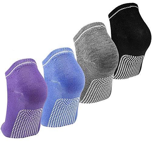 LLMZ rutschfeste Yoga-Socken Stoppersocken Yoga Socken - Martial Arts, Fitness, Zumba, Tanz -...