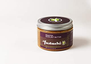 Fastachi Roasted Hazelnut Butter (1lb) | All-Natural, No Additives, Hand Roasted