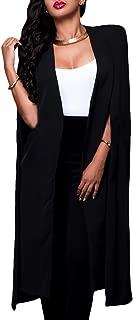 Best black cape blazer plus size Reviews