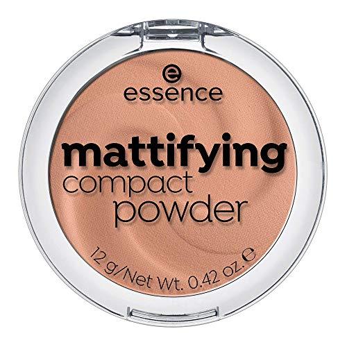 ESSENCE Mattifiying compact powder polvos matificantes 02 Soft Beige