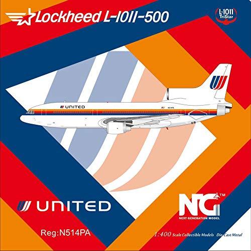 NG Model NGM35006 1:400 United Airlines Lockheed L-1011-500 Reg #N514PA (pre-Painted/pre-Built)