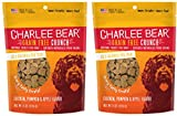 Charlee Bear Grain-Free Bear Crunch Chicken, Pumpkin & Apple Flavor - 2 Pack (16oz total)