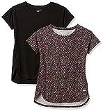 Amazon Essentials Studio Relaxed-fit Lightweight Crewneck T-Shirt Camiseta, Paquete de 2 Impresiones...