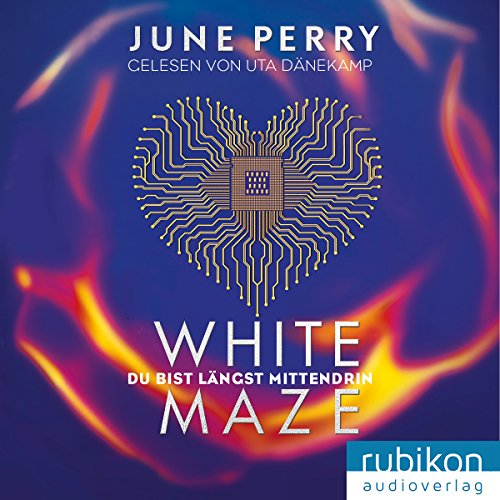 White Maze audiobook cover art