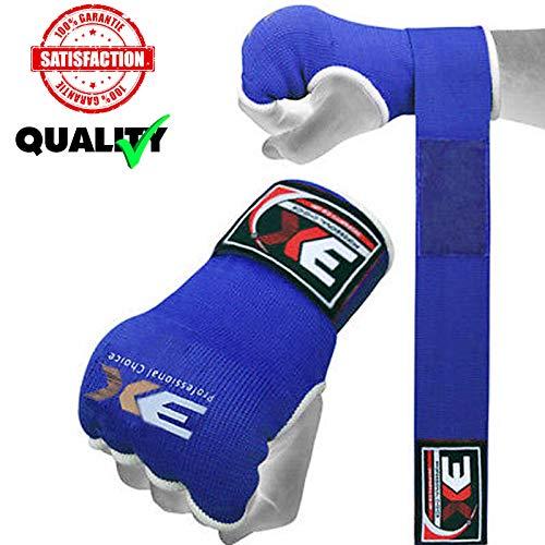 3X Professional Choice Gel gepolsterte Boxhandschuhe Innen Hand Wraps MMA Training Faustschutz Bandagen Mitts