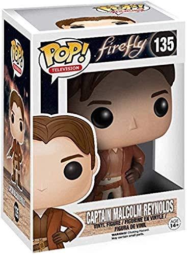 ZSDD Pop! Firefly # 135 Capitan Malcolm Reynolds Coleccionable