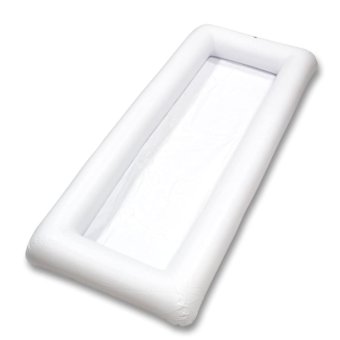 Cool Downz Inflatable Salad/Serving Bar, White, 51