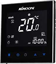 KKmoon 5A AC 95-240V Termostato Inteligente para Caldera de Gas,Wifi Regulador de Sistema de Caldera de Gas,Controlador co...