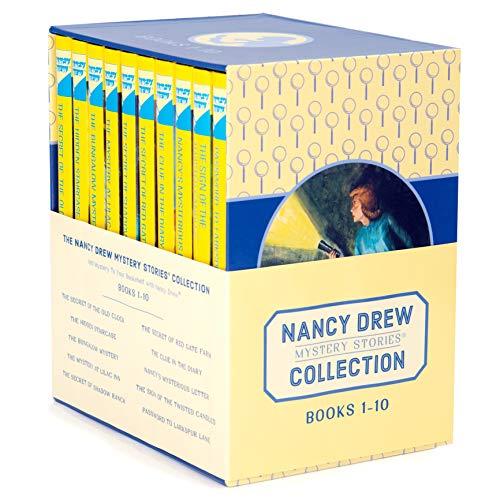 Nancy Drew Books 1-10 Box Set The Nancy Drew Mystery Stories Collection