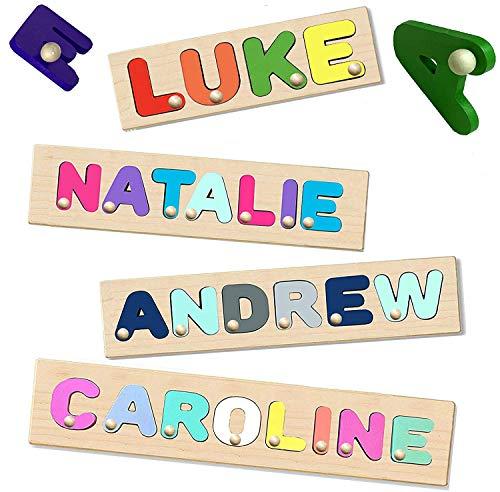 KIDZCO Peg Puzzle Kids Personalized...