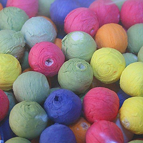 Sachet de boules de cotillon multicolores - 1000