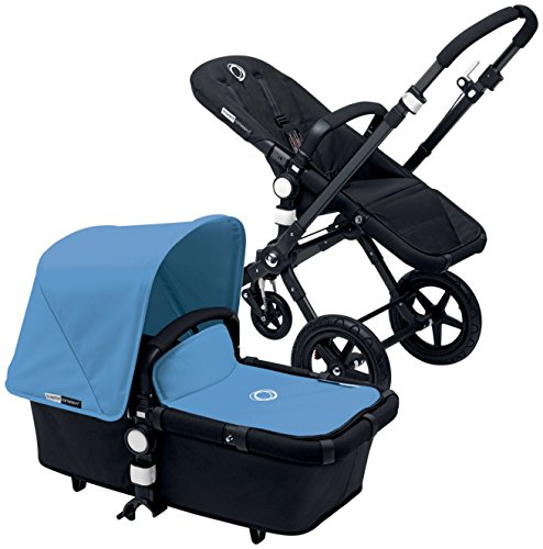 Review Bugaboo Cameleon3 Complete Stroller - Ice Blue - Black