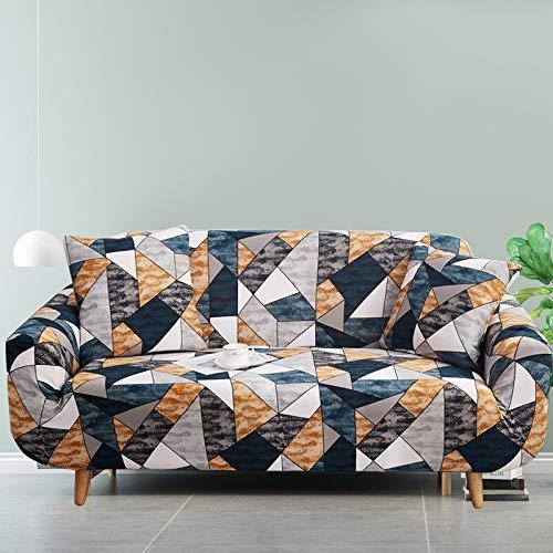 ASCV Juego de Fundas elásticas para sofá para Sala de Estar, sofá, Toalla, Fundas de sofá Antideslizantes para Mascotas, Funda de sofá elástica A2 2 plazas