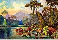 1000ピース ジグソーパズル木製プレプリントパターン自然の風景ジグソーパズル 1000ピース 絵画 大人 子 向け 木製パズルDIY家の装飾、パズルゲーム、減圧教育ギフト75x50 cm(8歳以上に適しています)