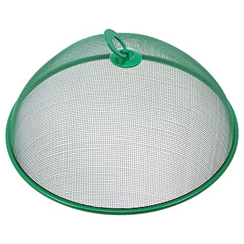 GARNECK Malla Metálica Cubierta de Alimentos Carpas de Acero Inoxidable Fundas de Alimentos Pantalla de Tienda de Alimentos Anti Fly Pop- Up Paraguas Pantalla Carpas Patio Comida Bug Net