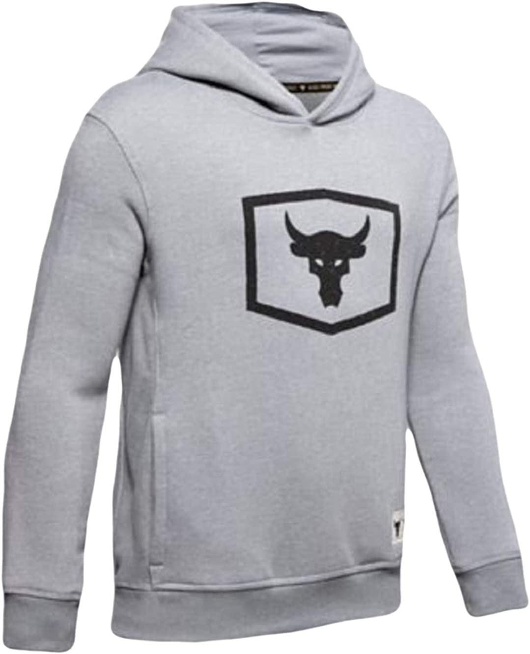 Under Armour YOUTH BOYS Project Rock Warm-Up Hoodie