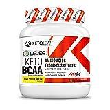 AMIX Nutrition | KetoLean | Keto goBHB Aminoácidos BCAA | Sabor Limón | 270 g | Aumenta Energía y Resistencia | Quemador de Grasa | Especial para Deportistas | Aminoácidos Ramificados