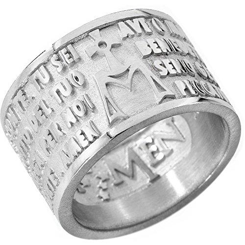 anello uomo gioielli Amen misura 22 casual cod. AM-22