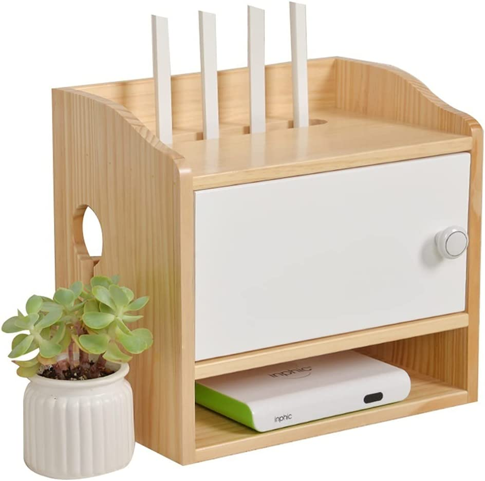 WiFi Wireless Router Storage Box Rack S Wall-Mounted New sales Set-top SEAL limited product
