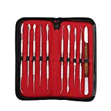 Anself 10Pcs Wax Carving Strumento Set Strumento Dentale Kit Versatile Attrezzature Di Lab...