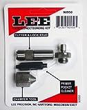 Lee Precision 90950 Cutter & Lock Stud en kit avec nettoyant, Multicolore, Taille...