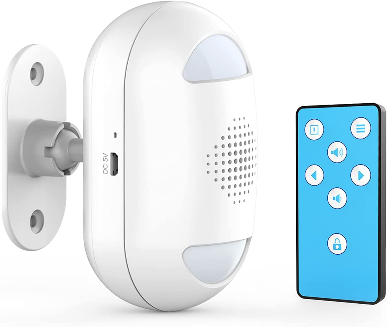 Business Entry Alert Door Chime Sensor Bi-Directional Motion Det