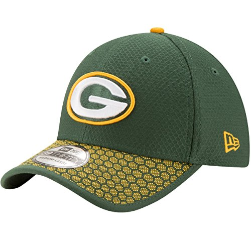 New Era 39Thirty Cap NFL 2017 SIDELINE Green Bay...
