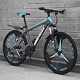 Bicicleta De Montaña 21/24/27/30 Velocidades Freno De Disco Doble 26 Ruedas Horquilla De...