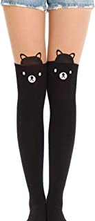 Ace Select Animal Tattoo Legging Tights Japanese Style Pantyhose Over Knee Socks