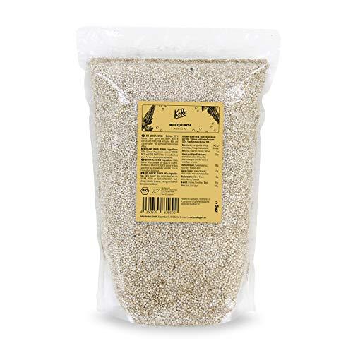 KoRo - Bio Quinoa Weiß 2 kg - Leckere Alternative zu Getreide aus kontrolliert biologischem Anbau,...