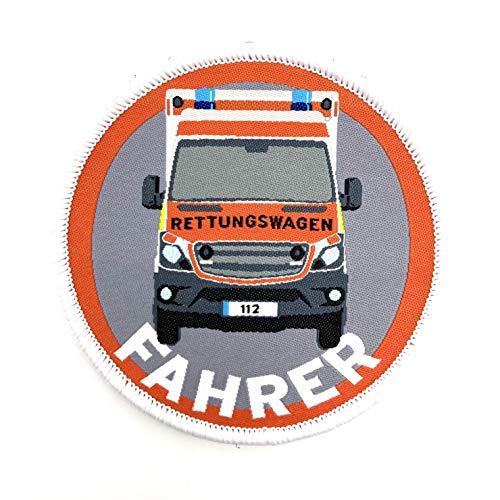polizeimemesshop Rettungswagenfahrer Textil Patch