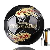 Senston Ballon de Football Taille 5 Match Officiel Football Adultes et Juniors