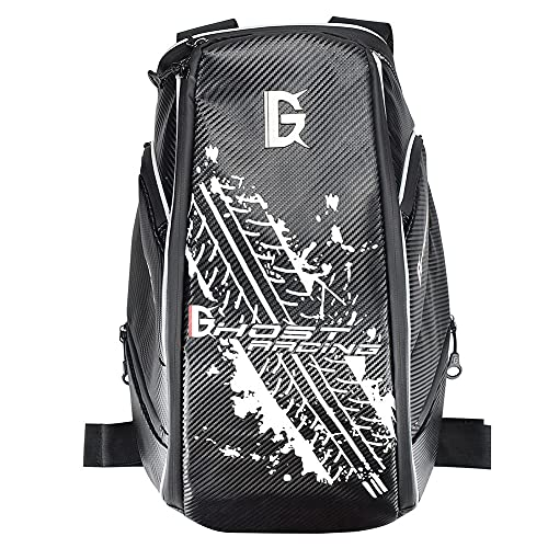 SANLAI Armour Knapsack Waterproof Motorbike Helmet Strap Black Motorcycle Backpack Cycling Bag Laptop Men Best birthday gifts Large Capacity