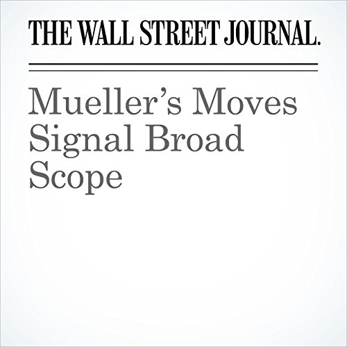Mueller's Moves Signal Broad Scope (Unabridged) copertina