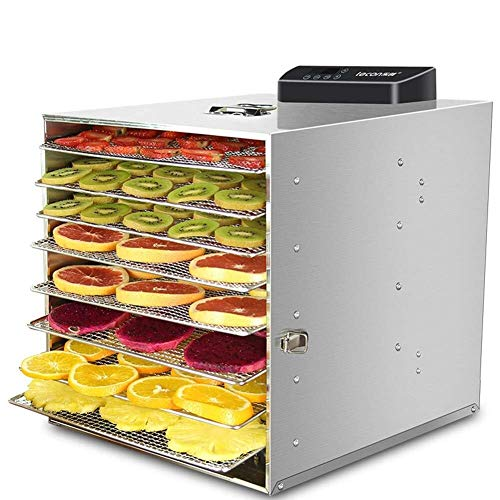 For Sale! Food dryer 6-Tray Food Dehydrator Machine Professional Electric Multi-Tier Food Preserver ...