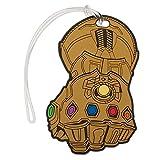 Bioworld Marvel Avengers: Infinity War Rubber Gauntlet Etiqueta para el Equipaje