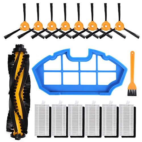 KEEPOW Kit Accesorios de Recambio para Cecotec Conga Excellence 990 Robot Aspiradora,Mega...