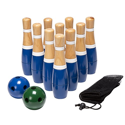 Lawn Bowling Skittle Ball Game