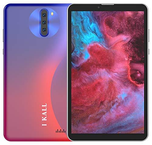 I KALL N3 4G Calling Tablet (7 Inch, 4GB Ram, 32GB Storage, Dual Sim + Calling + WiFi) (Red)