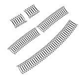 Brawdress 4 PCS Stretchable U-Shape Alloy Hair Finishing Fixer Flexible Clip-Shaped Comb Set Hair Accessory for Flyaway Hairs, Creating Different Hairstyles