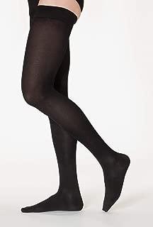 SIGVARIS Men's Essential Cotton 230 Closed Toe Thigh-Highs w/Grip-Top 20-30mmHg