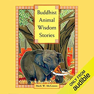 Buddhist Animal Wisdom Stories audiobook cover art