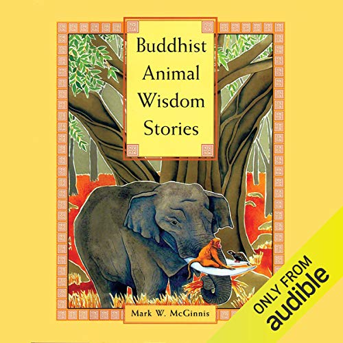 Buddhist Animal Wisdom Stories audiobook cover art