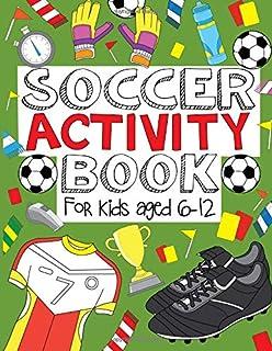 کتاب فعالیت های فوتبال: برای کودکان 6-12 ساله
