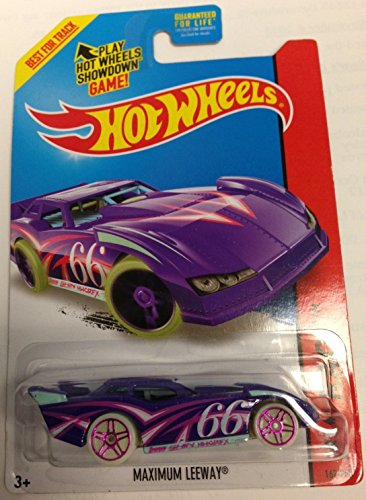 Hot Wheels Showdown Max Leeway - Morado - 2015 HW Race (Tormenta Nocturna)