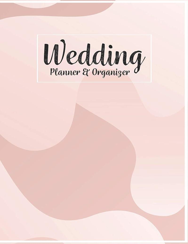 Wedding Planner & Organizer: Pretty Pink Luxury Wedding Planner and Organizer Checklists Worksheets 8.5x11