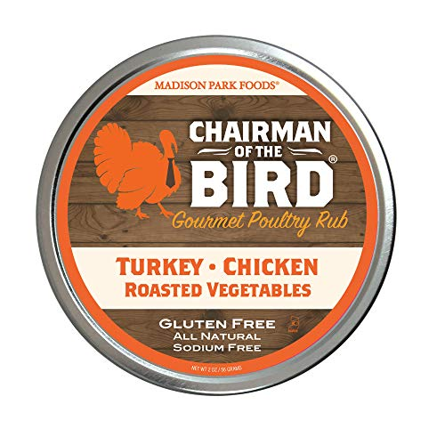 Chairman of the Bird Gourmet Poultry Rub and Classic Herb Seasoning Spice Blend for Brining,...