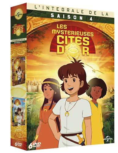 Les Mystérieuses Cités d'Or - L'intégrale saison 4 [Francia] [DVD]