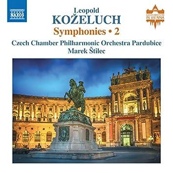 Koželuch: Symphonies, Vol. 2